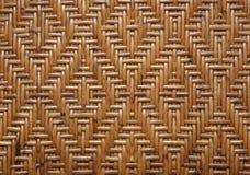 Rattan do teste padrão do Weave Imagem de Stock Royalty Free