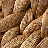 Rattan fibres. Detail structure of rattan pad-crossing fibres stock images