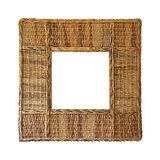 Rattan frame Royalty Free Stock Photography
