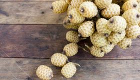 rattan fruit Royalty Free Stock Images