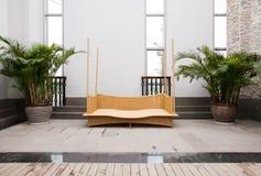 Rattan Furniture Stock Photos