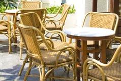Rattan Furniture Royalty Free Stock Image