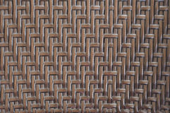 Rattan furniture woven pattern. Stock Photo