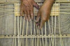 Rattan-Handwerker Lizenzfreies Stockbild