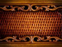 Rattan-Hintergrund Lizenzfreies Stockbild