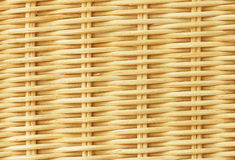 Rattan Interwoven Texture. And background Royalty Free Stock Photo