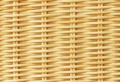 Rattan Interwoven Texture Royalty Free Stock Photo