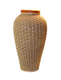 Rattan jar Stock Images