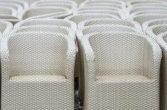 Rattan krzesła Obraz Stock