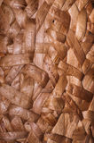 Rattan mat. Background of rattan mat popular in asian country Stock Image