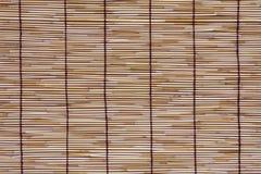 Rattan mat texture. Natural material stock photo