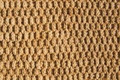 Rattan mat texture. Rough rattan sunlit mat texture Royalty Free Stock Photo