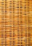 Rattan pattern. Detail of some rattan furniture Royalty Free Stock Photos