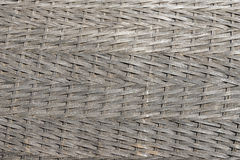 Rattan pattern handmade from nature basketwork wicker Royalty Free Stock Image