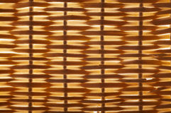 Rattan pattern texture. Of a basket close up Royalty Free Stock Images