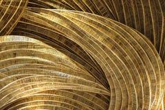 Rattan rękodzieła tła pettern brąz natura fotografia royalty free