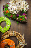 Rattan rolls Royalty Free Stock Images