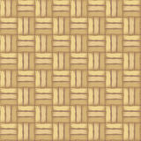 Rattan striped textured. Background. Wicker pattern. Vector samless pattern Royalty Free Stock Image