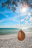 Rattan Swing Stock Images