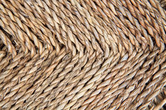 Rattan tecido Foto de Stock Royalty Free