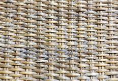 Rattan tecido Imagens de Stock