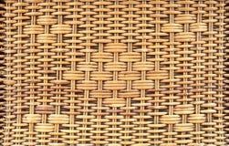 Rattan tecido Fotografia de Stock