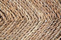 Rattan tessuto Fotografia Stock Libera da Diritti