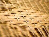 Rattan tessuto Fotografia Stock
