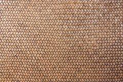 Rattan tessuto con i reticoli naturali. Immagine Stock Libera da Diritti