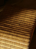 Rattan texture. Detail of a sofa Royalty Free Stock Photography