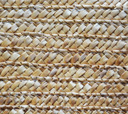 Rattan texture. With light brown colors Royalty Free Stock Images