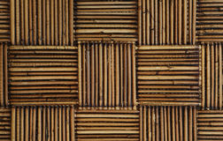 Rattan in a weave pattern Stock Photo