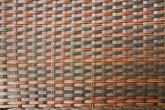 Rattan Weave Seamless Pattern Royalty Free Stock Photography
