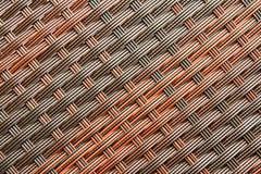 Rattan Weave Seamless Pattern Royalty Free Stock Photos