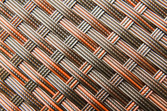 Rattan Weave Seamless Pattern Stock Photography