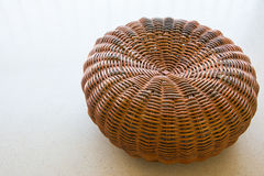 Rattan weave for sitting royalty free stock image