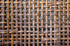 Rattan weave textile stock image