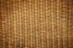 Rattan Weave Texture Royalty Free Stock Photo