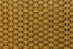 Rattan weave texture background Royalty Free Stock Photography