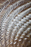 Rattan weave texture background Stock Photos