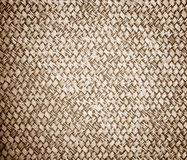 Rattan weave wall Royalty Free Stock Image