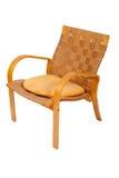 Rattan weaved armchair Stock Image