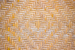 Rattan. Woven rattan with natural patterns Stock Image