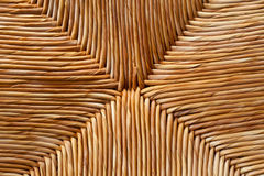 Rattan woven pattern background Royalty Free Stock Image