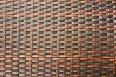 Rattan Wyplata Bezszwowego wzór Zdjęcie Stock