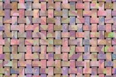 Rattan wyplatający maty wzór, tło lub tekstura dla projekta, ilustracji