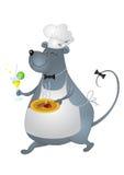 Ratte-kochen Sie Lizenzfreie Stockfotos
