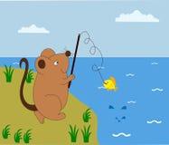 Rattefischer Lizenzfreie Stockfotos