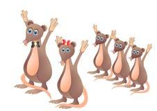 Ratten stock illustratie
