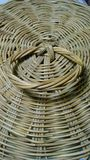 Ratten basket cover Stock Photography